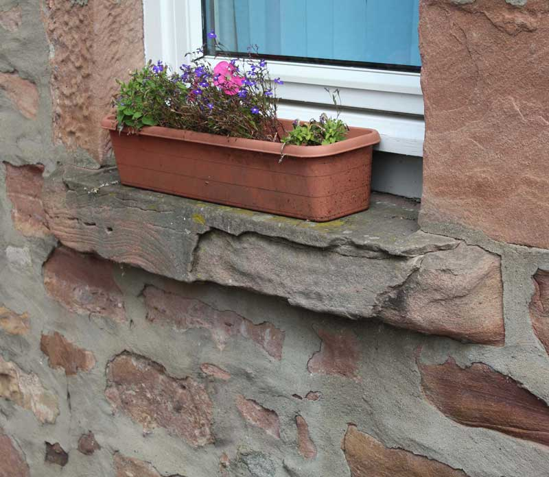 Stone erosion in Inverness