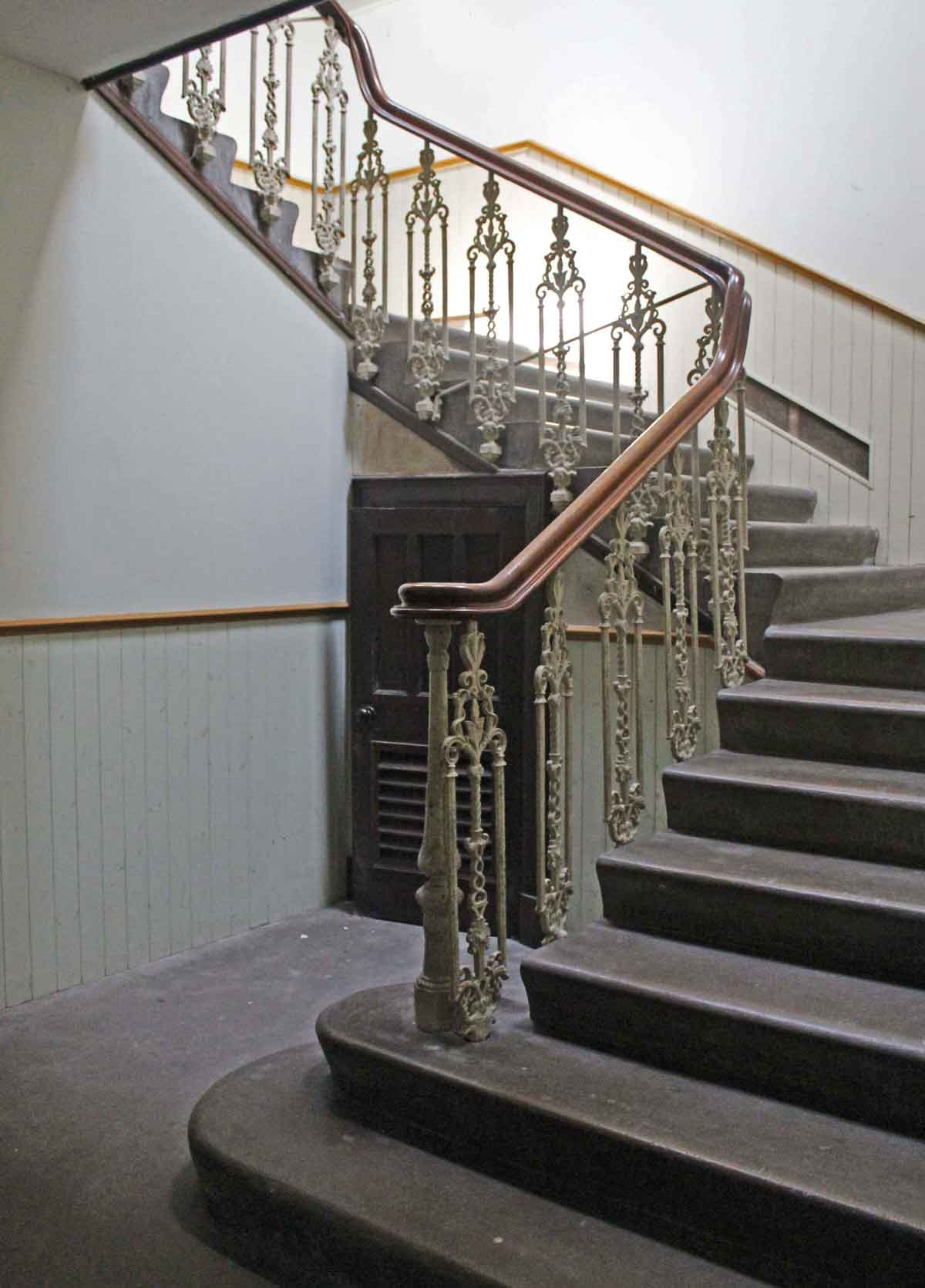 Dr Black Hall Inverness Staircase  MAAC Studio conservation architects