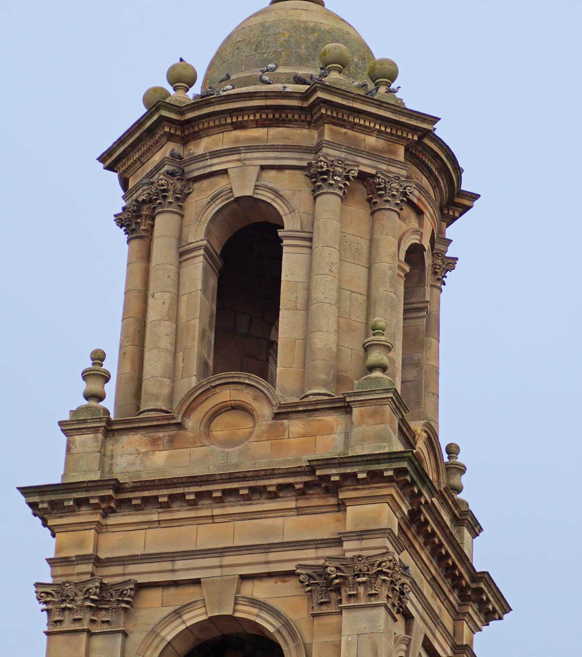Tower at Tain Parish Church, MAAC Studio conservation architects