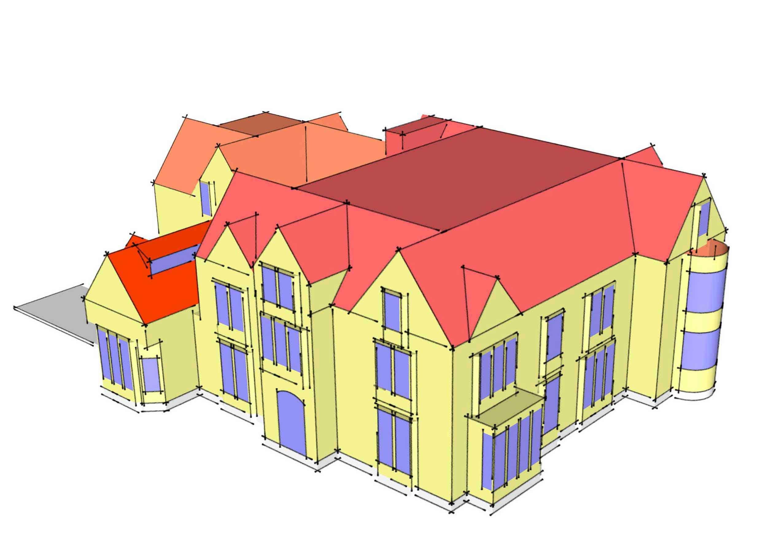 Newbold House energy analysis MAAC Studio conservation architect inverness edinburgh