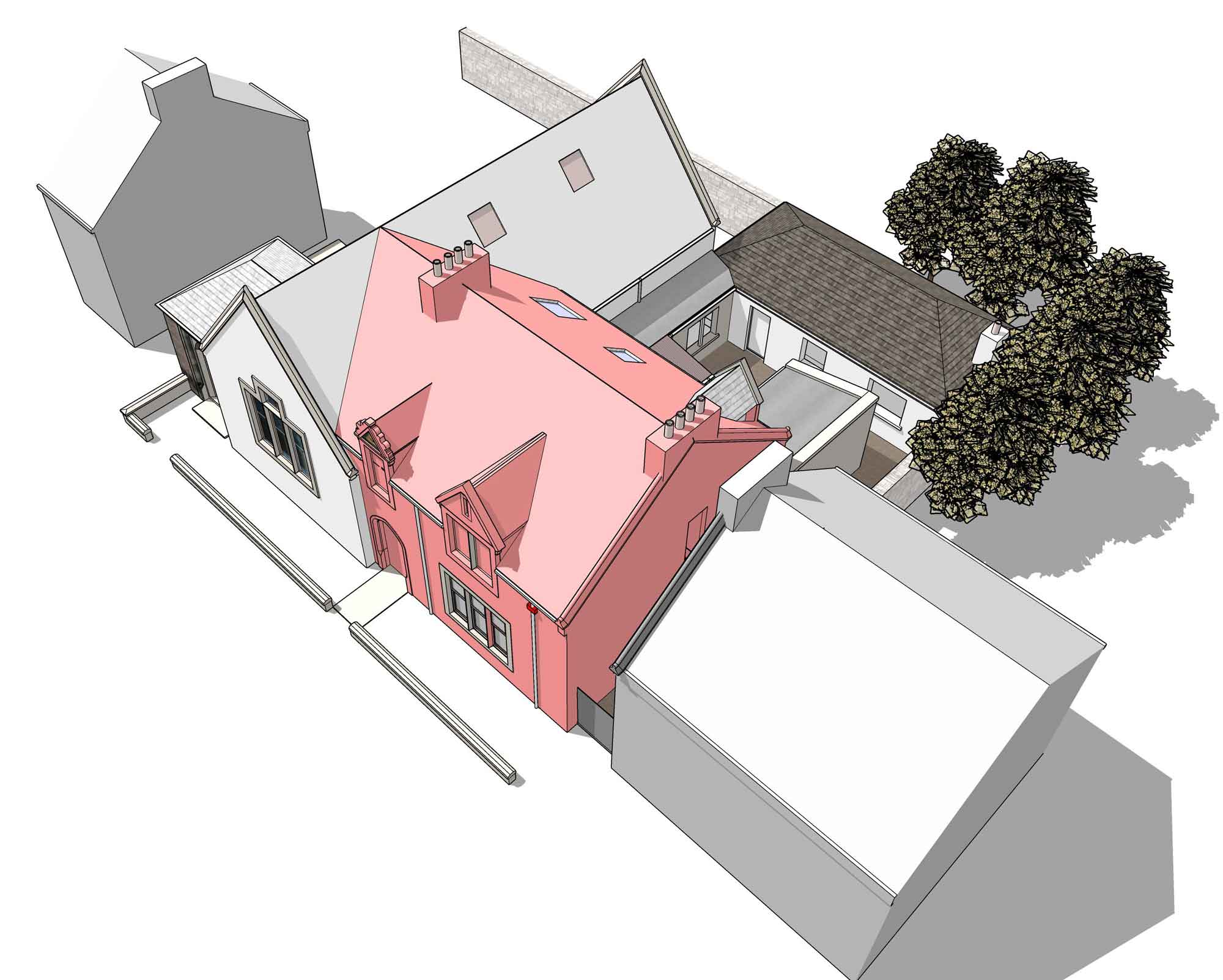 BIM for conservation architects, BIM Group North Inverness