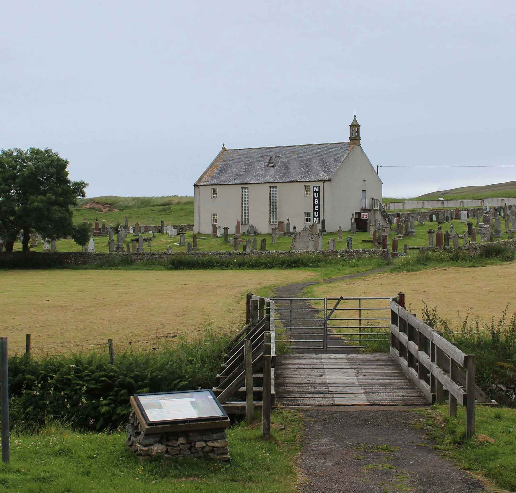 Strath Naver Museum, Bettyhill, inspection by MAAC Studio conservation architects