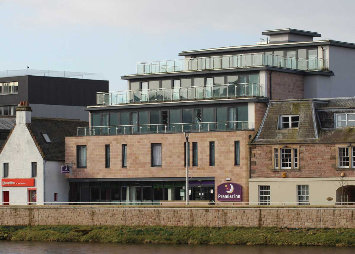 Over development of the historic Inverness rivereside