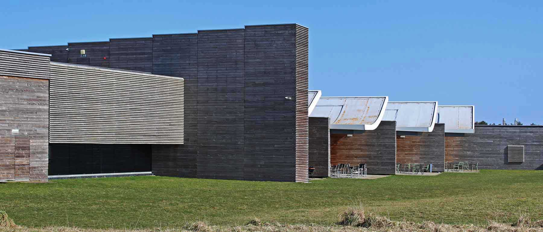 The exhibition spaces Culloden Visitor Centre Hoskins Architects Inverness