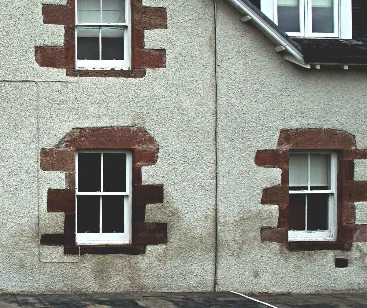 damp survey external wall Inverness MAAC Studio