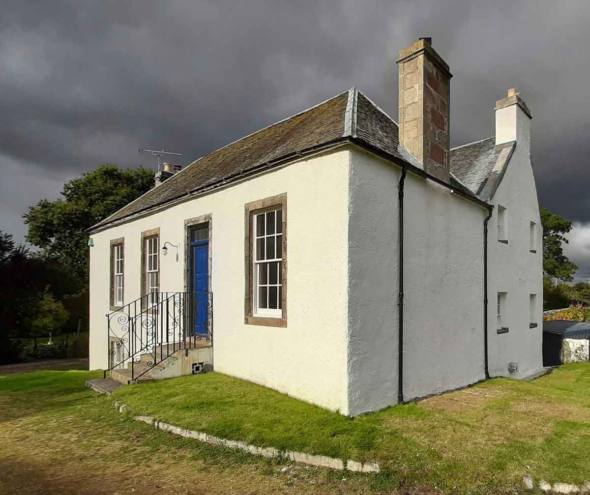 Highland Inverness damp gable repairs MAAC Studio conservation architect.