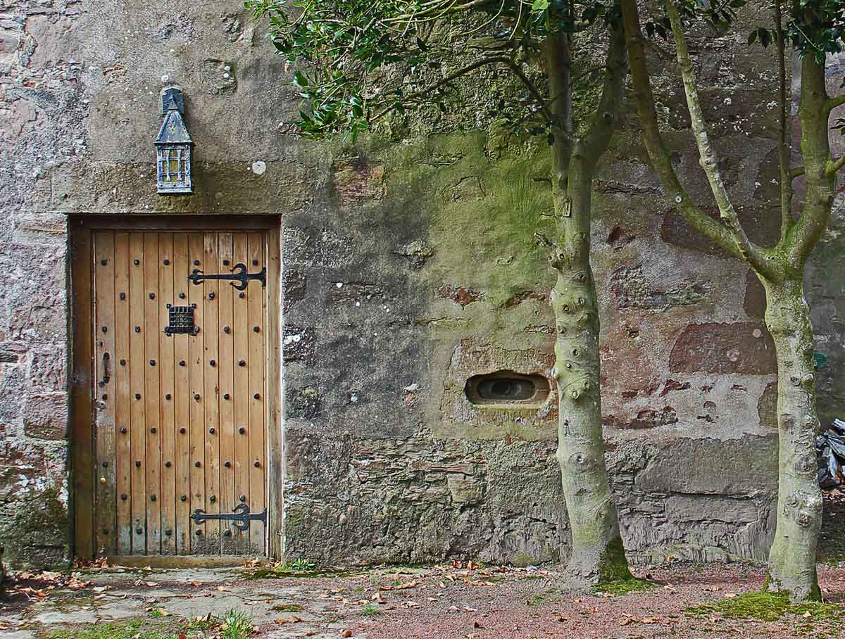 castle entrance inverness MAAC Studio conservation architect