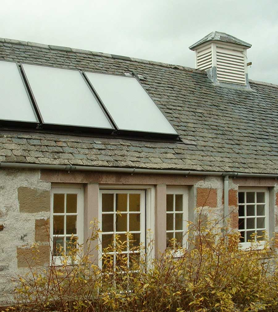 Net zero renewable energy retrofit