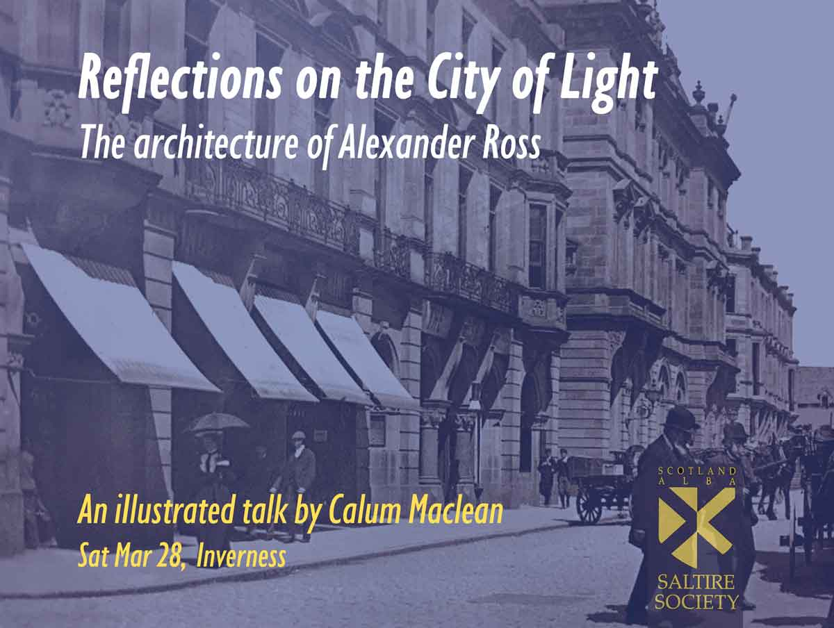 The Life and Work of Alexander Ross MAAC Studio conservation architects