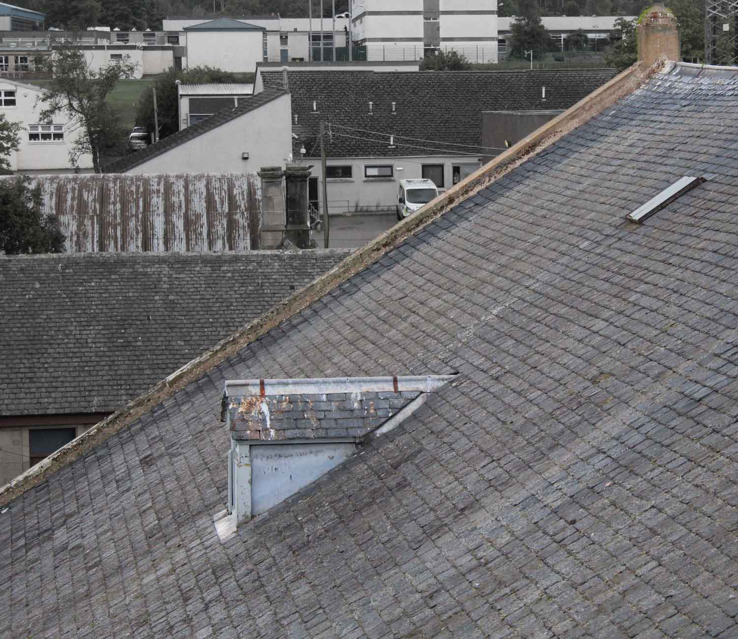 large roofs built for a different climate MAAC Studio conservation architect Inverness Edinburgh