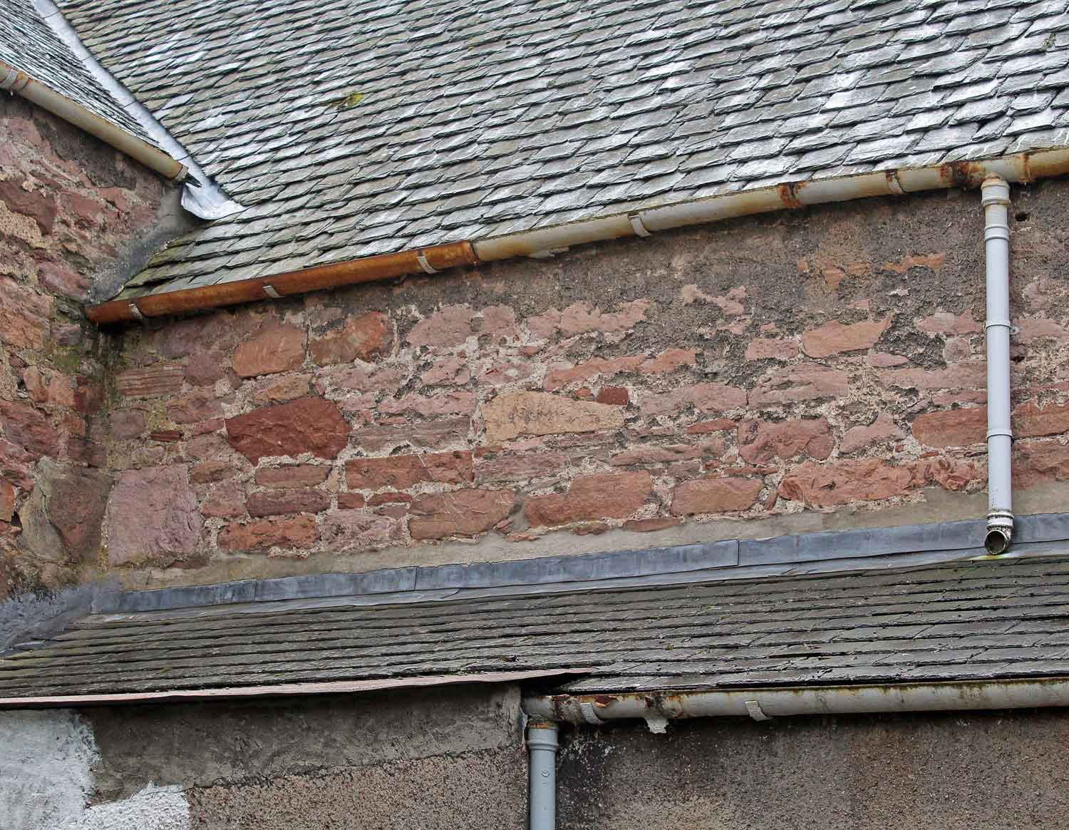 drainage problems on traditional properties MAAC Studio conservation architect Edinburgh Inverness