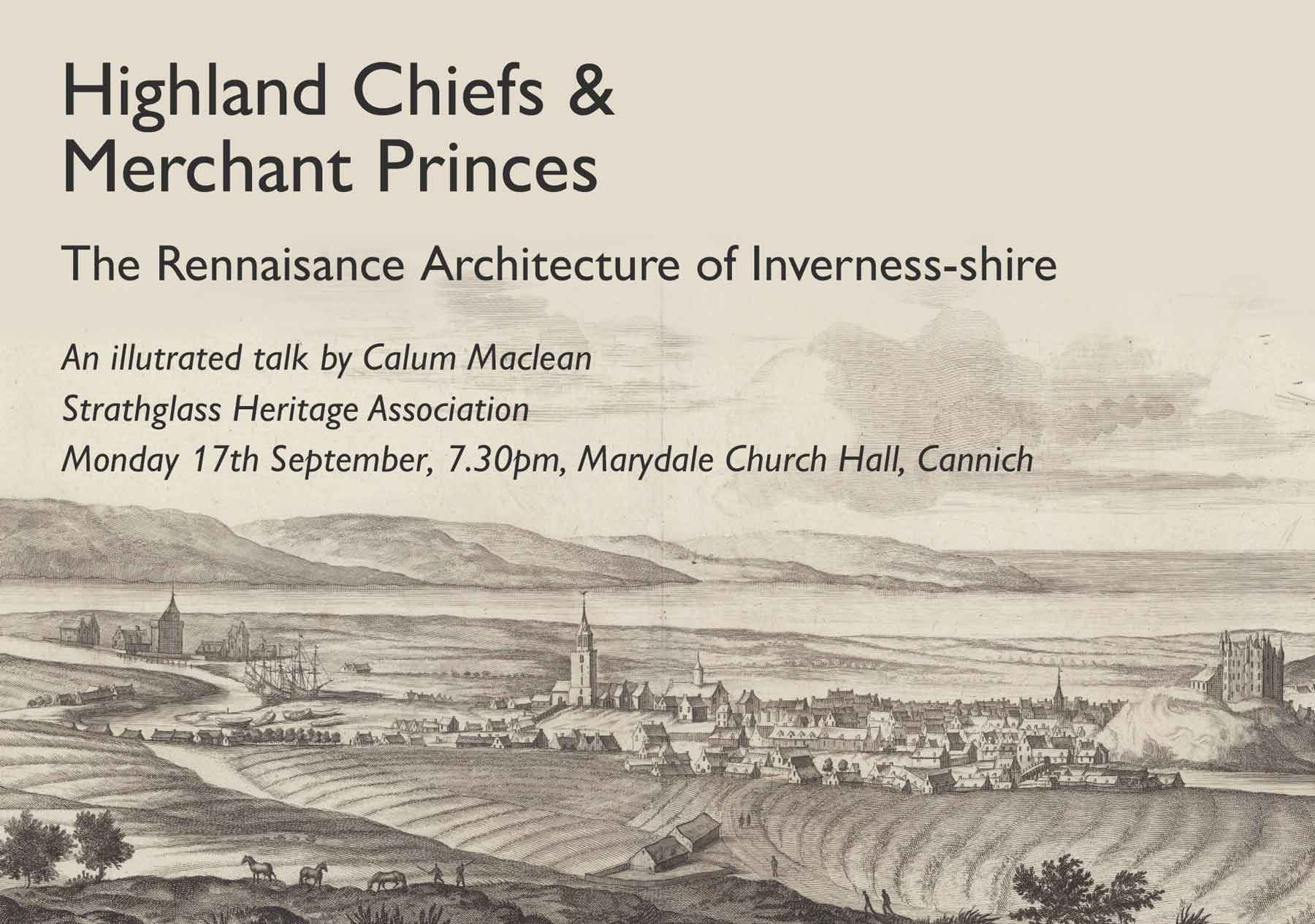 Highland Chiefs and Merchant Princes; Renaissance architecture in Inverness