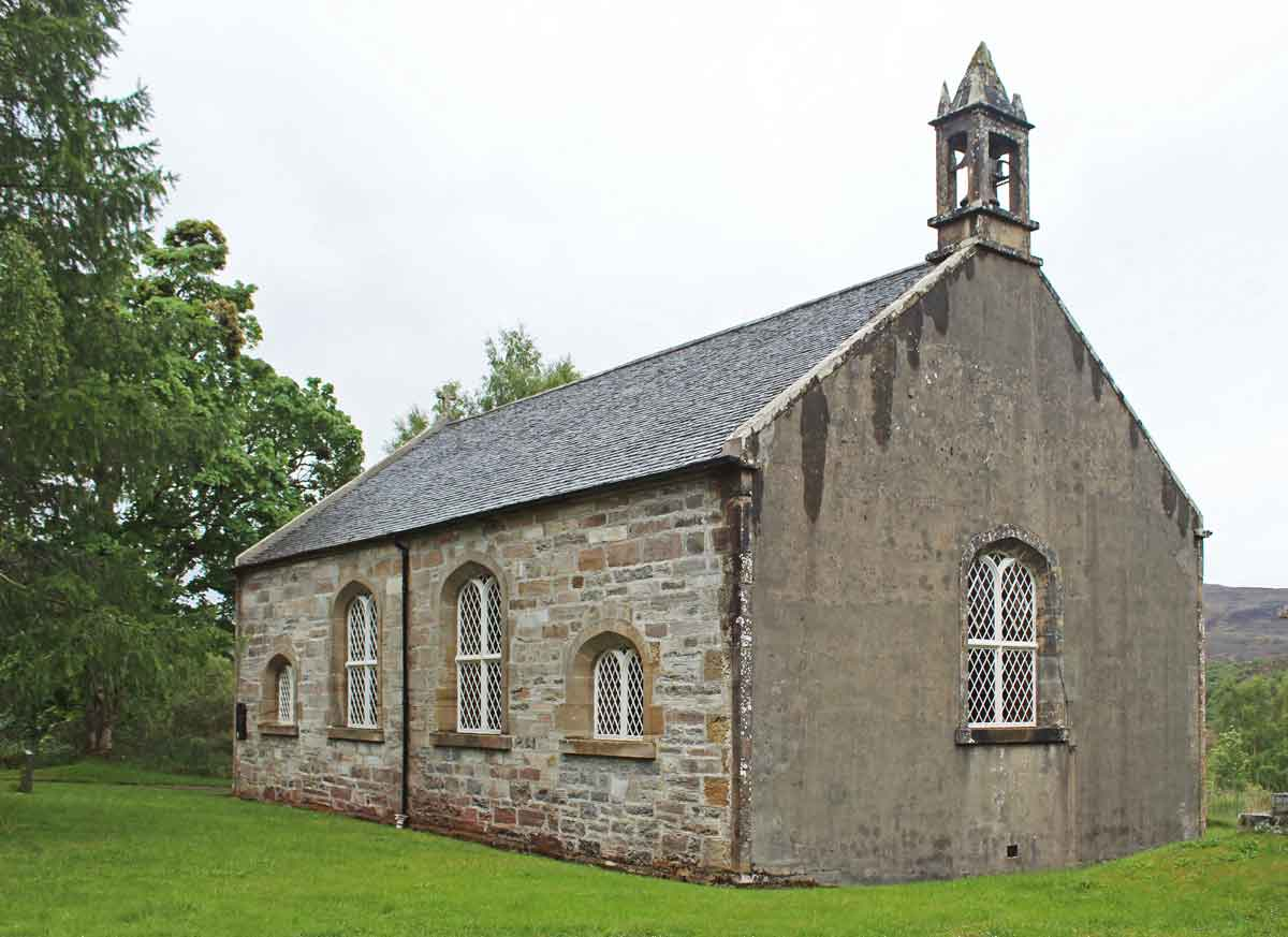 Kinlochluichart Church, Ross-shire, conservation work MAAC Studio